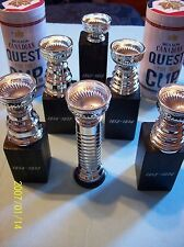 "Selling (Lot of 6) Molson Canadian NHL ""Quest For The Cup"" Stanley Cup Trophies!"