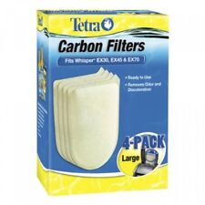 Tetra 26332 Whisper EX Carbon Filter Cartridges, Large, 4Pack