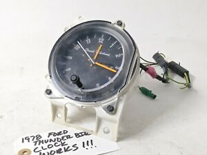 OEM functional 1978 Ford Thunderbird clock