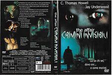 THE AFFAIR CRIMINI INVISIBILI (1998) dvd ex noleggio