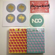2 Decks V1 V2 Jaspas Deck NDO New Deck Order Playing Cards