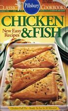 Pillsbury CHICKEN & FISH Small Cookbook #121 1991 Easy Recipes 30 Low Calorie