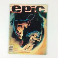 Epic Illustrated #10 Feb 1982 Marvel 1st Appearance of Marada the She-Wolf