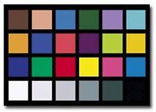 """X-Rite MSCCC Original ColorChecker Classic Card - 8.5 x 11"""" - Brand New"""
