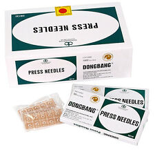 Dong Bang Sterile Ear Acupuncture Disposable Press Needles Patches, (500 pcs)