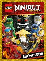 Blue Ocean Lego® Ninjago™ Legacy Stickerserie - Sticker 1-150 zum aussuchen