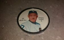 Original 1962 Salada Tea Junket plastic baseball coin #55 Sherm Lollar White Sox