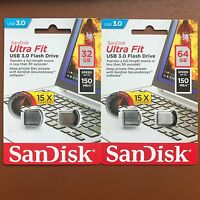Sandisk Ultra para 16/32/64 Gb Memoria Externa Mini Nano Lápiz de 150mbs USB 3.0