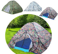 2~3 Person Portable Outdoor Camping Beach Tent Quick Assembly Pop Up Cabin