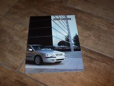 Catalogue / Brochure VOLVO S40 / V40 2001 //
