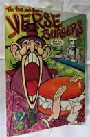 1972 VERSE BURGERS Art Spiegelman San Francisco Poetry Rare Limited Edition