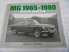 MG 1965-1980 PHOTO ARCHIVE ICONOGRAFIX MGB MGC MIDGET BOOK