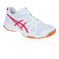 Asics Womens Gel-Upcourt Indoor Court Shoes White Sports Squash Badminton