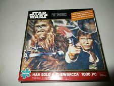 Buffalo Games Star Wars 1000 Piece Jigsaw Puzzle Hans Solo & Chewbacca Poster