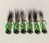 pcs Large Saltwater Bucktail Teasers•5//0 Hooks• Flounder Fluke Striper Blues 5