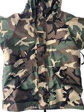 US Air Force BDU Camo Military Goretex APECS Jacket Coat Medium Regular
