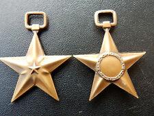 7.1S) Médaille militaire américaine silver/ bronze star ? american medal