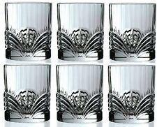 RCR Crystal Aurea Set Of 6 Crystal Tumblers Whiskey / Wine Water Tumbler 28cl