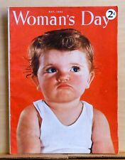 Woman's Day magazine - May 1942 - Rose Wilder Lane story - Little House books