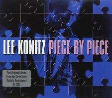 LEE KONITZ - PIECE BY PIECE 2 CD NEU