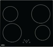 Belling IHT613 Built in 4 Burners Induction Hob Black with Touch Control