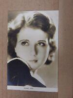 Film Star Postcard Sidney Fox Real photo unposted Film weekly series PB