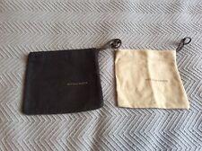 2 Bottega Veneta small square pouches