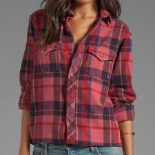 TEXTILE Elizabeth and James Kurt Flannel Shirt sz XS $198