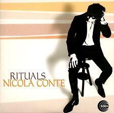 NICOLA CONTE rituals CD PROMO w/cardboard sleeve 2008 Schema Bossa Latin Jazz