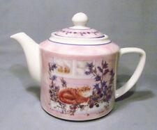 Valerie Pfeiffer 2000 Innovation Persian Tabby Cat Porcelain Teapot