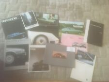 CAR  VARIOUS MAKES. BROCHURES x 11