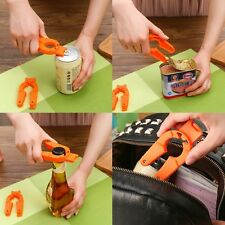 Home Tool Plastic Bottle Opener Manual Non-slip Can Opener Kitchen Gadgets Tools