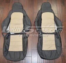 2005 - 2011 Chevrolet Corvette C6 Custom Two Tone Leather Seat Upholstery
