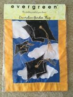 Graduation Cap Decorative Garden Flag