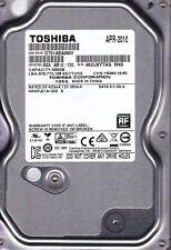 Toshiba DT01ABA050V rev: ASA AB10/720  HDKPJ21A1A02 S 500GB SATA 3.5  2919