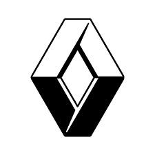 DISTINTIVO di Diamante RENAULT CLIO R5 Twingo RS 172 182 Emblema Adesivo Decalcomania 100 mm x 2