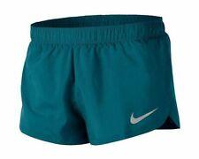 """NEW Nike Men's Dri-Fit 2"""" Split Lined Running Training Shorts AQ5333 Green SMALL"""