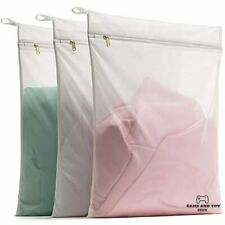 Delicates Laundry Bags Bra Fine Mesh Wash Bag for Underwear Lingerie 3 Large