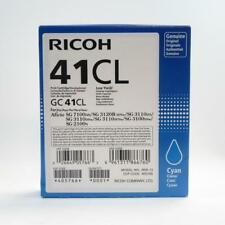 Ricoh GC 41CL Genuine Cyan Print Cartridge for SG 7100, 3120B, 3110, 2100 etc.