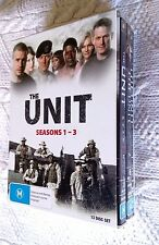 THE UNIT : SEASON 1-3 (DVD, 13-DISC BOX SET/ ORIGINAL) R-4, LIKE NEW, FREE POST