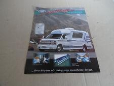 2002 Chinook Motorhome Sales Brochure