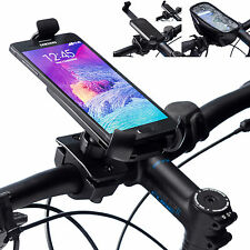 Pro Handlebar Bicycle Mount + Universal One Holder for Samsung Galaxy Note 4 5