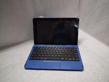 "RCA Galileo 11.5"" WiFi 32GB Tablet RCT6513W87 Blue / Black w/KEYBOARD TESTED"