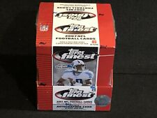 1 - NEW UNOPENED FACTORY SEALED 2007 TOPPS FINEST FOOTBALL HOBBY BOX