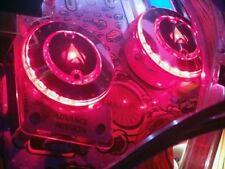 STAR TREK ST:TNG CHROME PINBALL POP BUMPER DECALS from METAL-MODS CHROME CAPS