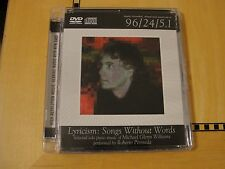 Lyricism Songs Without Words - DVD Audio Advanced Resolution Surround Sound AIX