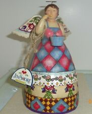 Bless this Kitchen Jim Shore Heartwood Creek 9.5in Angel cook figurine 4006930
