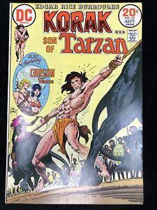 Korak Son of Tarzan #53 (DC 1973) Joe Kubert cover ~ Carson of Venus ~ 7.5 VF-
