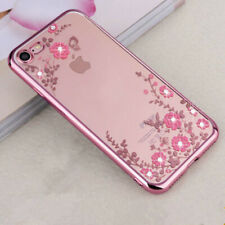 iphone 4 5 6 7 8 PLUS XS XR Shockproof Flower Cute Girls Women Phone Case Cover