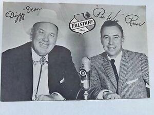 Baseball Hall of Famer Autograph - Dizzy Dean - St. Louis Cardinals